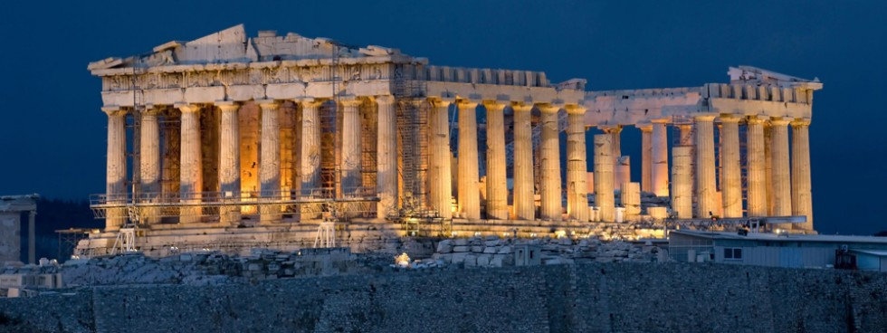 Parthenon-on-Acropolis-in-Athens-Greece